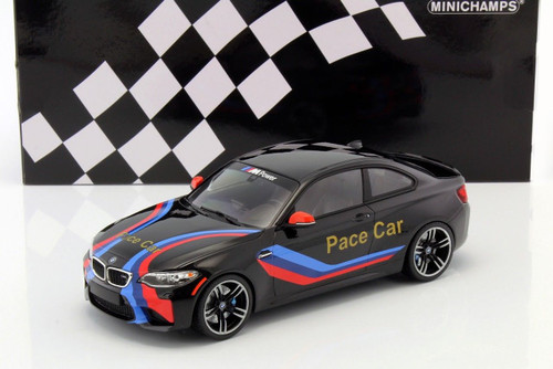 2016 BMW M2 Coupe Pace Car Limited to 402pc Worldwide 1/18 Diecast Model Car Minichamps 155026106