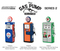 Vintage Gas Pump Series 2 Set of 3 Pumps 1/18 Diecast Models Greenlight 14020 A B C