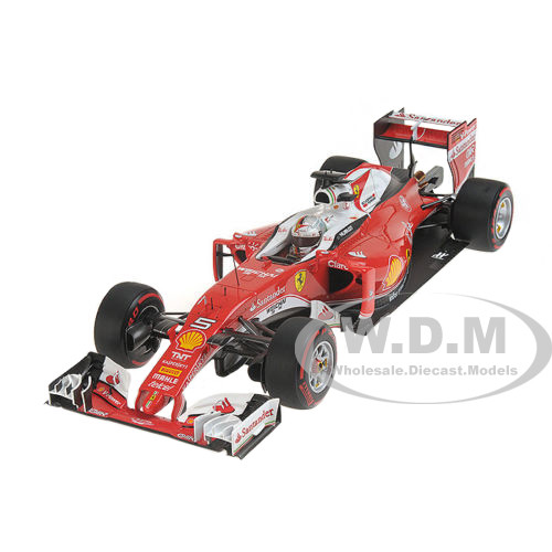 Ferrari SF16-H F1 Italy GP 2016 Sebastian Vettel #5 1/18 Model Car BBR 181625