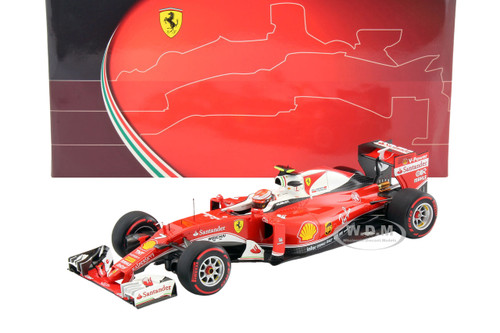 Ferrari SF16-H F1 Italy GP 2016 Kimi Raikkonen #7 1/18 Model Car BBR 181627
