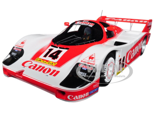 Porsche 956K #14 Canon Racing 1983 Nurburgring 3rd Place Rosberg Lammers Palmer Limited Edition to 600pcs 1/18 Diecast Model Car Minichamps 155836614