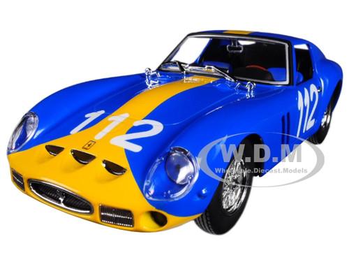 Ferrari 250 Gto Coupe Ch.3445 #112 Targa Florio 1964 BURAGO 1:24 BU26305BL