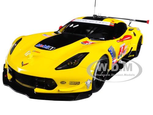 Chevrolet Corvette C7 R #3 Lime Rock 2016 2nd Place Antonio Garcia Jan Magnussen 1/18 Model Car Autoart 81607