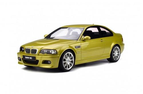 2003 BMW M3 E46 Phoenix Yellow 1/12 Model Car GT Spirit G025