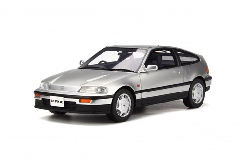 Honda CRX Silver 1 18 Model Car Otto Mobile OT252