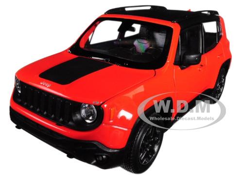 Jeep Renegade Trailhawk Orange 1/24 1/27 Diecast Model Car Welly 24071