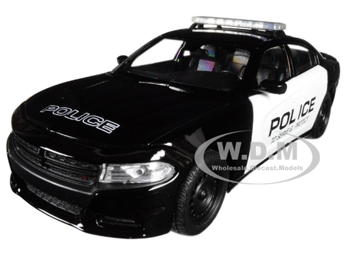 2016 Dodge Charger Pursuit Police 1/24 1/27 Diecast Model Car Welly 24079
