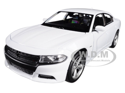 2016 Dodge Charger R/T White 1/24 1/27 Diecast Model Car Welly 24079