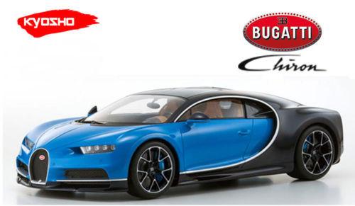 Bugatti Chiron Blue Limited to 350 pieces Worldwide 1/12 Model Car Kyosho KSR08664 BL