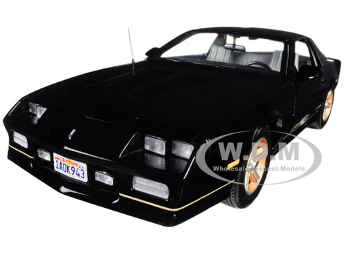 1985 Chevrolet Camaro IROC-Z Black 1/18 Diecast Model Car Sunstar 1943