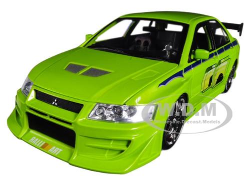 Jadatoys 253202000-1//32 Fast /& Furious Brian/'s Mitsubishi Lancer Evolution VII