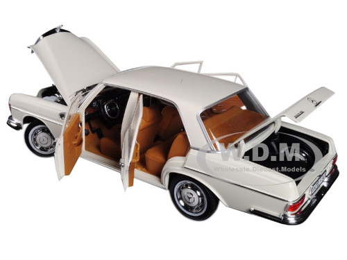 1968 MERCEDES BENZ 280 SE IVORY 1:18 DIECAST CAR MODEL BY NOREV 183569 NEW