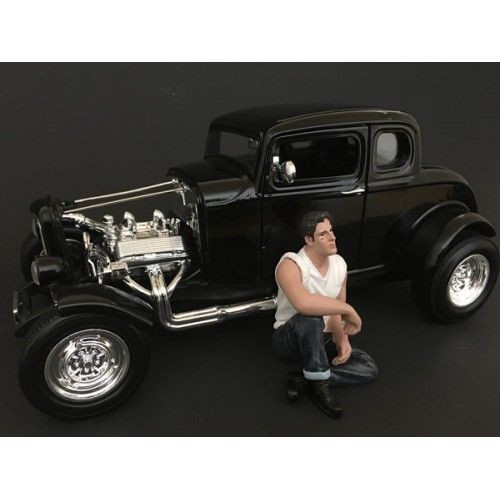50's Style Figure V for 1:24 Scale Models by American Diorama 38255