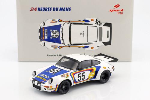 Porsche 911 RSR #55 24 Hours Le Mans C. Ballot Lena J. Bienvenue 1/18 Model Car Spark 18S289
