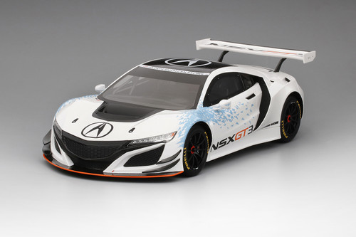 Acura NSX GT3 Presentation 2016 NY Auto Show Limited Edition to 999 pieces 1/18 Model Car Top Speed TS0081