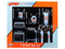 Garage Shop Tools Gulf Oil Set of 6 pieces 1/18 Diecast Replica GMP 18872