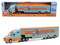 Kenworth T2000 Gulf Transporter Hobby Exclusive 1/64 Diecast Model Car Greenlight 29929