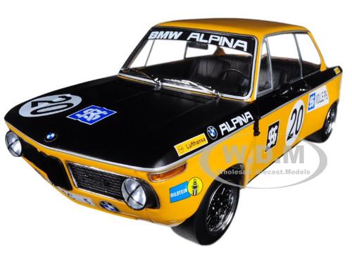 BMW 1600 BMW-Alpina Helmut Marko #20 Class Winner Austria Trophae Salzburgring 1970 ETCC Limited Edition to 500 pieces Worldwide 1/18 Diecast Model Car Minichamps 155702620