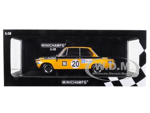 2 TW-EM Salzburgring 1970 Helmut Marko Minichamps 1:18 BMW 1600 Alpina 1° Div