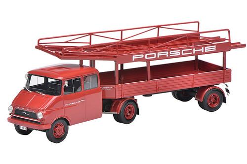 Opel Blitz Racing Transporter Porsche Limited Edition 500 pieces Worldwide 1/43 Model Car Schuco 450901500