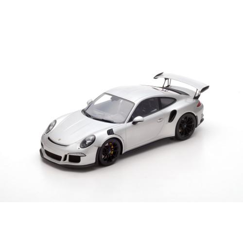 2016 Porsche 991 GT3 RS Silver 1/12 Model Car Spark 12S008