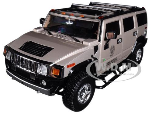 2003 Hummer H2 Csi Miami 2002 2012 Tv Series 118 Diecast Car Model