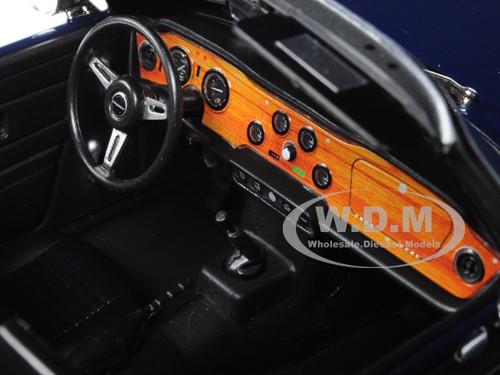 1:18 Minichamps Triumph tr6 azul nuevo New