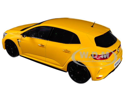 2017 Sirius Yellow 1:18 MODELLINO Die CAST Compatible avec Norev NV185226 Renault Megane R.S