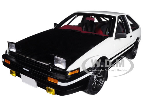Toyota Sprinter Trueno AE86 Right Hand Drive Initial D Project D Final  Version 1/18 Model ...