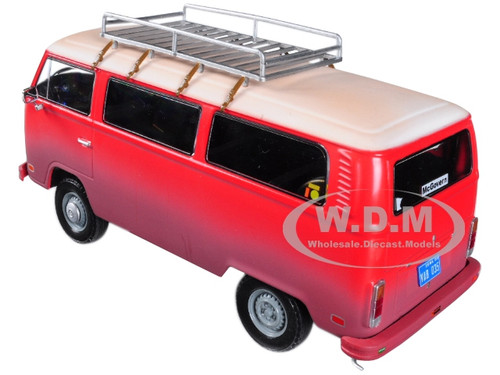 1973 Volkswagen Bus Type 2 (T2B) Red