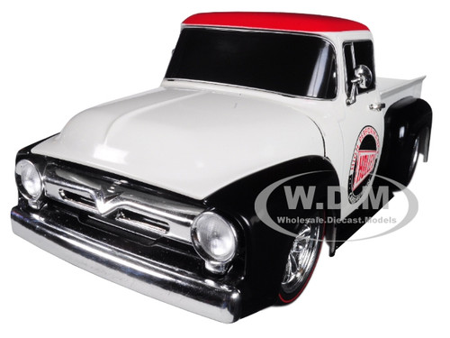 1956 Ford F-100 Pickup Truck Holley Limited Edition 5800 pieces Worldwide 1/24 Diecast Model Car M2 Machines 40300-66 B