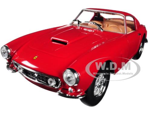 Ferrari 250 GT Berlinetta Passo Corto Red 1/24 Diecast Model Car Bburago 26025