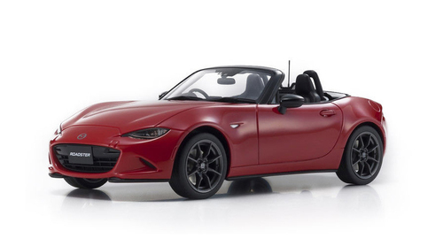 Mazda Roadster S Classic Red Leather Package Limited Edition 400 pieces Worldwide 1/18 Model Car Kyosho KSR18009CR
