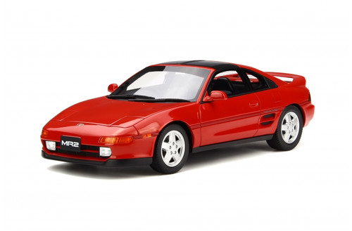 1992 Toyota MR2 Red Limited Edition 1500 pieces Worldwide 1/18 Model Car Otto Mobile OT234