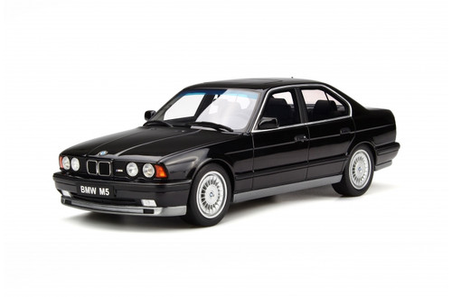 BMW E34 M5 Phase I Black Limited Edition 2000 pieces Worldwide 1/18 Model Car Otto Mobile OT690