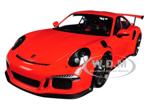 2015 Porsche 911 GT3 RS Lava Orange Limited Edition 2004 pieces Worldwide 1/18 Diecast Model Car Minichamps 155066220