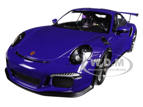 2015 Porsche 911 GT3 RS Ultra Violet Limited Edition 1002 pieces Worldwide 1/18 Diecast Model Car Minichamps 155066221