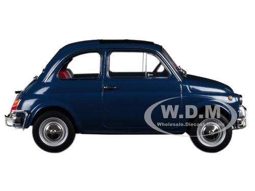 1968 Fiat 500 L Blue 1 18 Diecast Model Car Norev 187770