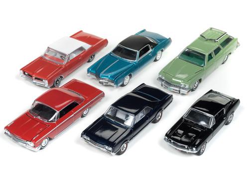 Autoworld Muscle Cars Premium 2018 Release 3 A Set 6 Cars 1/64 Diecast Models Autoworld 64182 A
