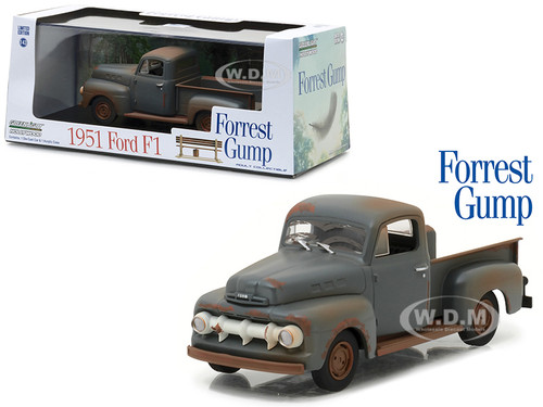 Ford F  Pickup Truck Run Forest Run Forest Gump  Cast Model