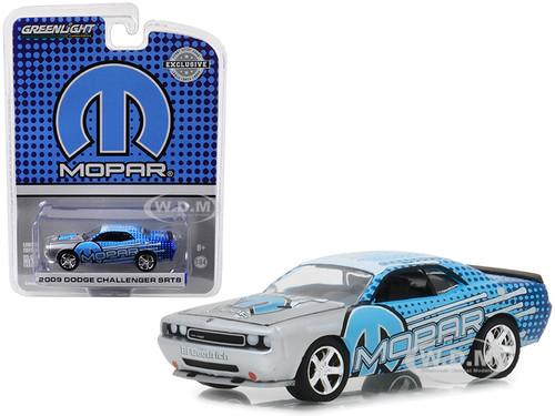 2009 Dodge Challenger Srt8 Mopar Edition Silver Blue Hobby Exclusive