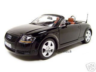 Audi Tt Roadster Black 118 Diecast Model Car Maisto 31878