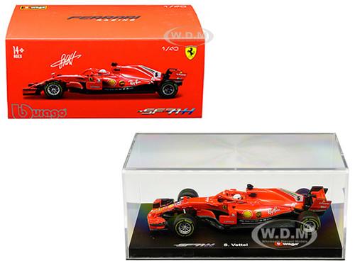 Ferrari Racing SF71H #5 Sebastian Vettel 1/43 Diecast Model Car Bburago 36808 SV