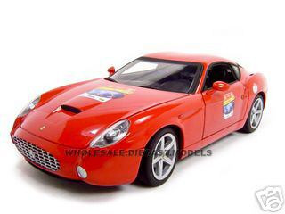 Ferrari 575 GTZ Red 60 Anniversary Edition 1/18 Diecast Model Car Hotwheels l2960r