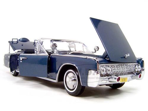 1961 Lincoln X-100 Kennedy Limousine Blue 1/24 Diecast ...