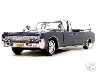 1961 Lincoln X-100 Limousine Quick Fix with Flags 1//24 Diecast Model Car by R...