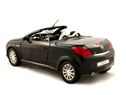 opel tigra convertible black 1 18 diecast car model norev 183600. Black Bedroom Furniture Sets. Home Design Ideas