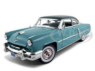 1952 Lincoln Capri Green 1/18 Diecast Model Car Road Signature 92808