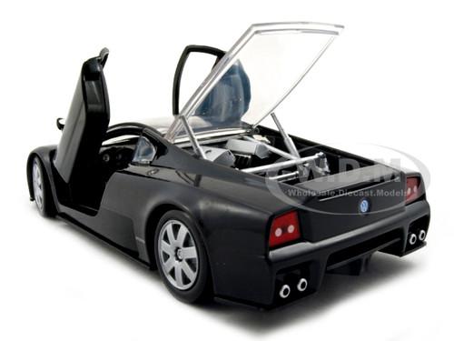 VOLKSWAGEN NARDO W12 SHOW CAR BLACK 1/24 DIECAST CAR MODEL ...