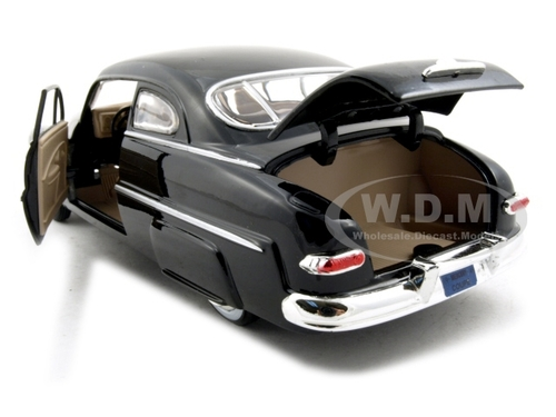 1949 Mercury Coupe Black 1//24 Scale Diecast Car Model By Motor Max 73225